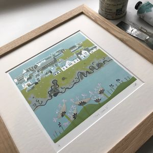 Port Isaac Limited Edition Print Two - limited edition art