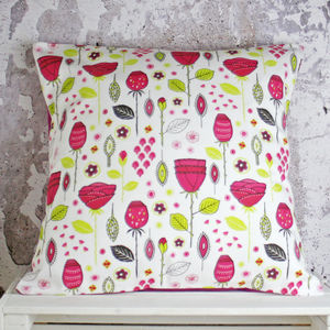 Modern Pink Rose Handmade Cushion Cover - sale by category