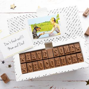 Chocolate Good Luck Gift