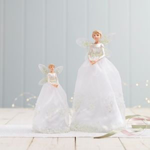 Snowdrop Fairy Christmas Tree Topper - tree decorations