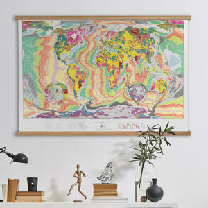 World Geology Map