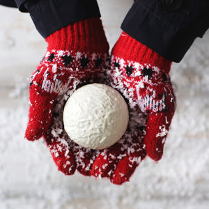 Lifesize Chocolate Snowball - stocking fillers