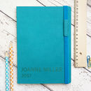 Personalised 2018 Journal Notebook
