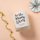 Personalised 'To The Moon And Back' Scented Candle