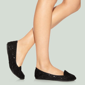 Tatiana Sequin Shoe Gift Set - women's fashion
