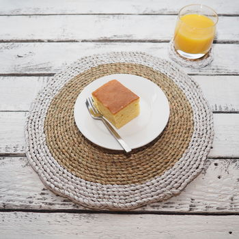Wicker Dinner Placemats