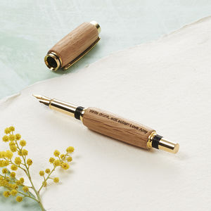 Whisky Barrel 'Barron' Fountain Pen