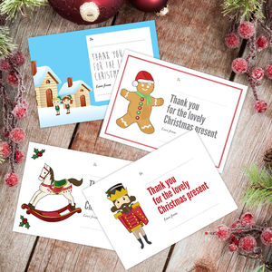 Christmas Thank You Cards 2016