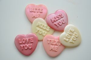 Love Heart Candy Covered Oreo Gift