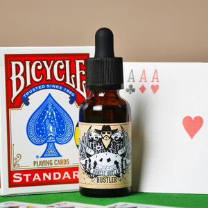Hustler Beard Oil 30ml With Playing Cards