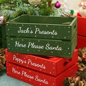 Personalised Small Christmas Box - cards & wrap
