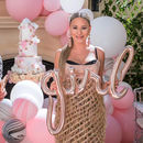 Baby Shower Rose Gold Girl Balloon