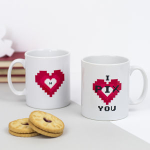 Personalised 'I Pix You' Mug