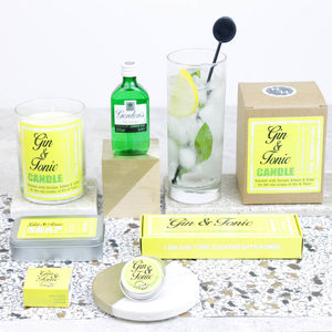 Large Gin Themed Pamper Hamper