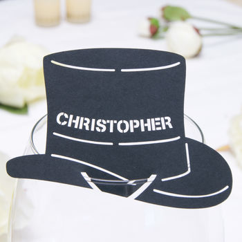 Top Hat in Black