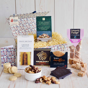 Traditional British Treats Hamper - gift sets