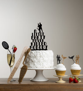 Great Gatsby Party Table Decorations And Cake Topper - cake decoration