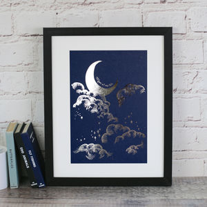 Moon Of My Life Silver Foiled Print - what's new