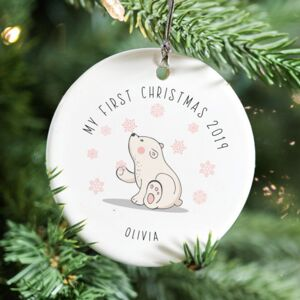 Baby's First Christmas Ceramic Decoration