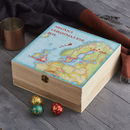 Personalised Christmas Eve Map Box