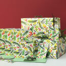 Botanical Christmas Bumper Gift Wrap Kit