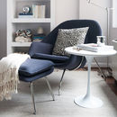 Cosy Armchair And Matching Ottoman