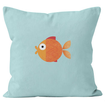 Personalised Goldfish Cushion