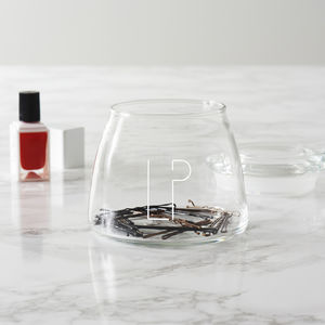 Personalised Initials Beauty Storage Jar - kitchen accessories
