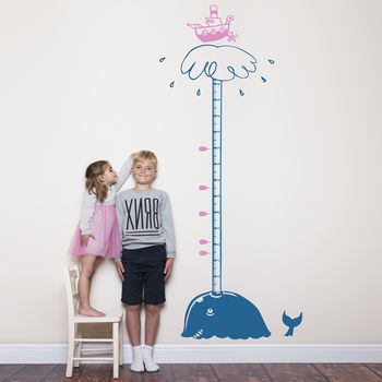 Cool Whale Height Chart For Children