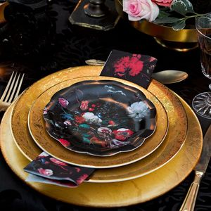 Baroque Paper Tableware - kitchen