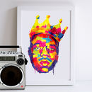 Notorious B.I.G Art Print