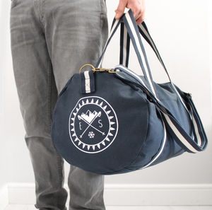 Monogram Winter Canvas Holdall - holdalls & weekend bags