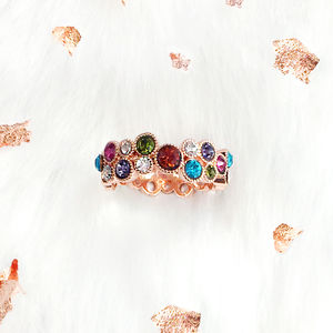 Be A Rainbow Rose Gold Ring