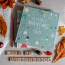 Personalised Alphabet Adventure Journal