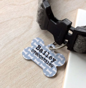 Personalised Pet Identity Tags - gifts for pets
