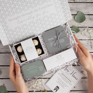 'New Home' Letterbox Gift Set - housewarming gifts