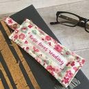 Personalised Floral Bookmark