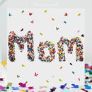 Butterfly Mom Mother's Day Card, Mom Birthday Card Wd