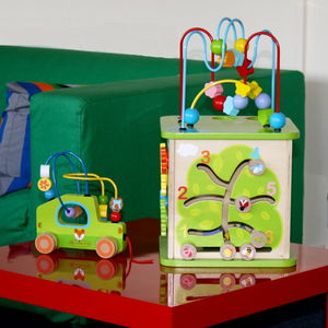 Activity Cube And Bead Maze Car - traditional toys & games