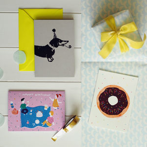 Picnic Parties Birthday Card Stationery Box