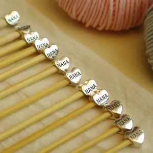 Nana Knitting Needles Six Pair Set