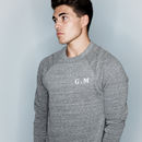 Personalised Initials Men's Sweatshirt Supersoft Luxury