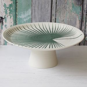 Fan Print Cake Stand - kitchen