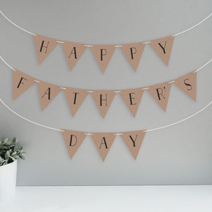 Happy Father's Day Bunting