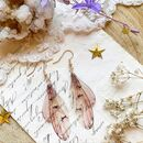 New Collection 'Ethereal wing' Earrings