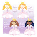 Little Princess Personalised Print - Choices
