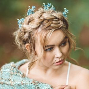 Eliza Gypsophila Hair Pin