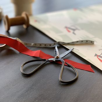 Old Fashioned Style Spear Utility Scissors