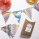 Scandi Rainbow Party Bunting