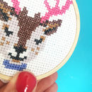 Reindeer Cross Stitch Craft Kit